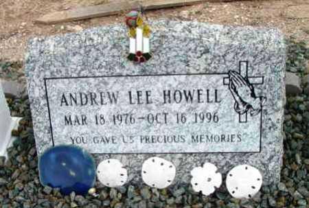 HOWELL, ANDREW LEE - Yavapai County, Arizona | ANDREW LEE HOWELL - Arizona Gravestone Photos
