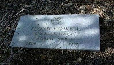 HOWELL, FLOYD - Yavapai County, Arizona | FLOYD HOWELL - Arizona Gravestone Photos