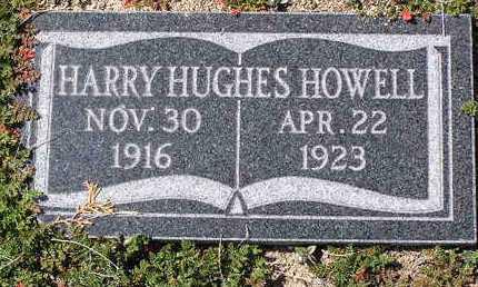 HOWELL, HARRY HUGHES - Yavapai County, Arizona   HARRY HUGHES HOWELL - Arizona Gravestone Photos