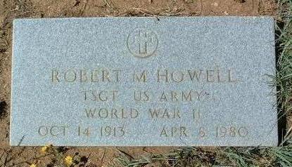 HOWELL, ROBERT M. - Yavapai County, Arizona | ROBERT M. HOWELL - Arizona Gravestone Photos