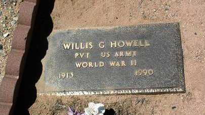 HOWELL, WILLIS G. - Yavapai County, Arizona | WILLIS G. HOWELL - Arizona Gravestone Photos