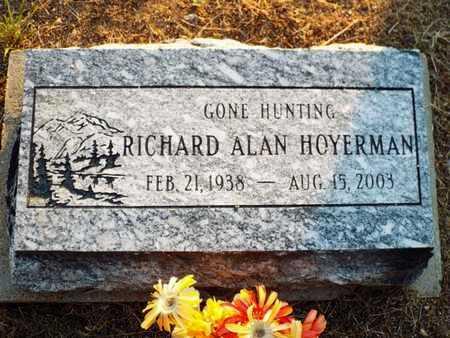 HOYERMAN, RICHARD ALLEN - Yavapai County, Arizona   RICHARD ALLEN HOYERMAN - Arizona Gravestone Photos