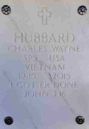 HUBBARD, CHARLES WAYNE - Yavapai County, Arizona   CHARLES WAYNE HUBBARD - Arizona Gravestone Photos