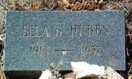 HUBBS, LELA B. - Yavapai County, Arizona | LELA B. HUBBS - Arizona Gravestone Photos