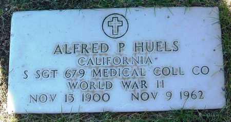 HUELS, ALFRED P. - Yavapai County, Arizona | ALFRED P. HUELS - Arizona Gravestone Photos
