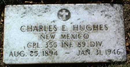 HUGHES, CHARLES E. - Yavapai County, Arizona | CHARLES E. HUGHES - Arizona Gravestone Photos