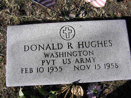 HUGHES, DONALD R - Yavapai County, Arizona | DONALD R HUGHES - Arizona Gravestone Photos