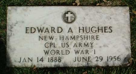 HUGHES, EDWARD A. - Yavapai County, Arizona   EDWARD A. HUGHES - Arizona Gravestone Photos