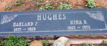 BEAVER HUGHES, NINA BERYL - Yavapai County, Arizona | NINA BERYL BEAVER HUGHES - Arizona Gravestone Photos