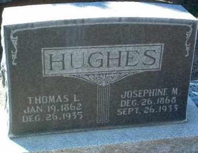 HUGHES, JOSEPHINE M. - Yavapai County, Arizona   JOSEPHINE M. HUGHES - Arizona Gravestone Photos