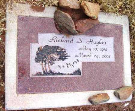 HUGHES, RICHARD SHELLY - Yavapai County, Arizona | RICHARD SHELLY HUGHES - Arizona Gravestone Photos