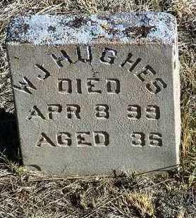 HUGHES, WILLIAM J. - Yavapai County, Arizona   WILLIAM J. HUGHES - Arizona Gravestone Photos