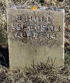 HULL, BEN - Yavapai County, Arizona | BEN HULL - Arizona Gravestone Photos