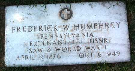 HUMPHREY, FREDERICK W. - Yavapai County, Arizona | FREDERICK W. HUMPHREY - Arizona Gravestone Photos