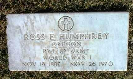 HUMPHREY, ROSS EDWARD - Yavapai County, Arizona   ROSS EDWARD HUMPHREY - Arizona Gravestone Photos