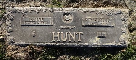 HUNT, BRYCE - Yavapai County, Arizona | BRYCE HUNT - Arizona Gravestone Photos
