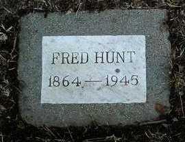 HUNT, FRED - Yavapai County, Arizona | FRED HUNT - Arizona Gravestone Photos