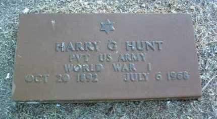 HUNT, HARRY GLEN - Yavapai County, Arizona   HARRY GLEN HUNT - Arizona Gravestone Photos