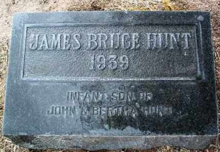 HUNT, JAMES BRUCE - Yavapai County, Arizona   JAMES BRUCE HUNT - Arizona Gravestone Photos