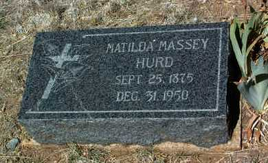 HURD, MATILDA - Yavapai County, Arizona | MATILDA HURD - Arizona Gravestone Photos