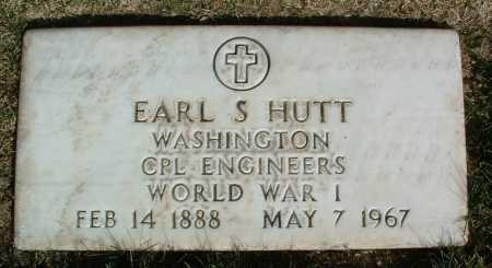 HUTT, EARL S. - Yavapai County, Arizona | EARL S. HUTT - Arizona Gravestone Photos
