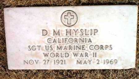 HYSLIP, DAVID MARSHALL (D. M.) - Yavapai County, Arizona | DAVID MARSHALL (D. M.) HYSLIP - Arizona Gravestone Photos