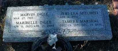 INGLE, MARIBELLE - Yavapai County, Arizona | MARIBELLE INGLE - Arizona Gravestone Photos