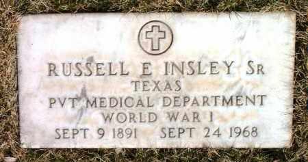 INSLEY, RUSSELL EDWARD - Yavapai County, Arizona | RUSSELL EDWARD INSLEY - Arizona Gravestone Photos