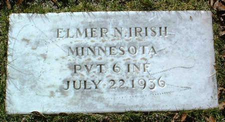 IRISH, ELMER NORMAN - Yavapai County, Arizona   ELMER NORMAN IRISH - Arizona Gravestone Photos