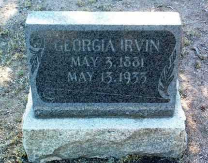 HERRING IRVIN, GEORGIA - Yavapai County, Arizona | GEORGIA HERRING IRVIN - Arizona Gravestone Photos