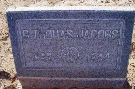 JACOBS, GEORGE THOMAS - Yavapai County, Arizona | GEORGE THOMAS JACOBS - Arizona Gravestone Photos