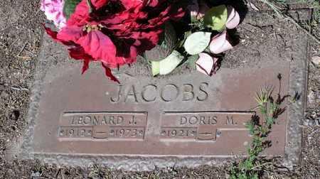 JACOBS, DORIS M. - Yavapai County, Arizona | DORIS M. JACOBS - Arizona Gravestone Photos
