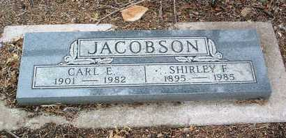 FOSTER JACOBSON, ALVARETTA SHIRLEY - Yavapai County, Arizona | ALVARETTA SHIRLEY FOSTER JACOBSON - Arizona Gravestone Photos