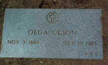 JACOBSON OLSON, OLGA - Yavapai County, Arizona | OLGA JACOBSON OLSON - Arizona Gravestone Photos
