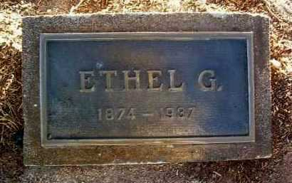 JAEGER, ETHEL G. - Yavapai County, Arizona   ETHEL G. JAEGER - Arizona Gravestone Photos