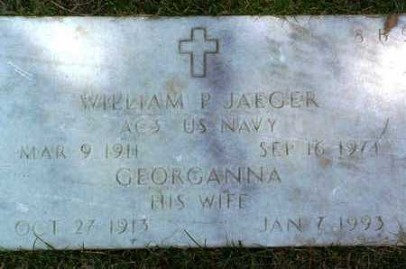 JAEGER, WILLIAM P. - Yavapai County, Arizona | WILLIAM P. JAEGER - Arizona Gravestone Photos