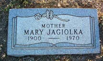 JAGIOLKA, MARY - Yavapai County, Arizona   MARY JAGIOLKA - Arizona Gravestone Photos
