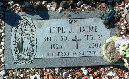 JAIME, LUPE J. - Yavapai County, Arizona | LUPE J. JAIME - Arizona Gravestone Photos