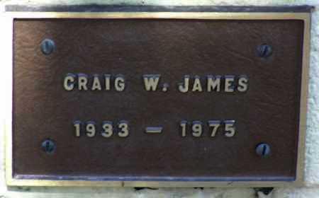 JAMES, CRAIG WILLIAM - Yavapai County, Arizona | CRAIG WILLIAM JAMES - Arizona Gravestone Photos
