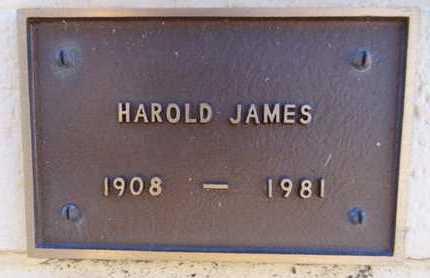 JAMES, HAROLD - Yavapai County, Arizona | HAROLD JAMES - Arizona Gravestone Photos