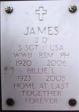 JAMES, J. D. - Yavapai County, Arizona | J. D. JAMES - Arizona Gravestone Photos