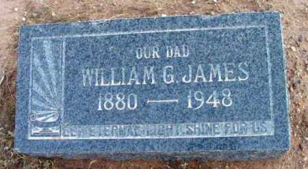JAMES, WILLIAM GEORGE - Yavapai County, Arizona   WILLIAM GEORGE JAMES - Arizona Gravestone Photos
