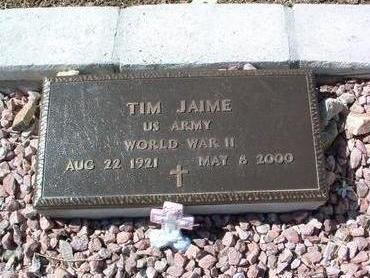JAIME, TIM - Yavapai County, Arizona | TIM JAIME - Arizona Gravestone Photos
