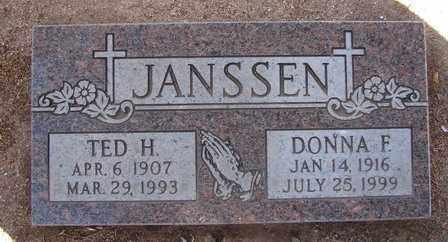 HENDERSON JANSSEN, DONNA FRANCES - Yavapai County, Arizona | DONNA FRANCES HENDERSON JANSSEN - Arizona Gravestone Photos
