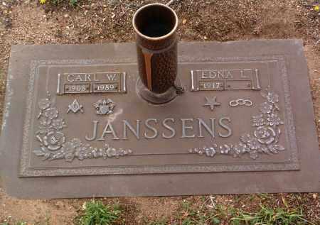 WOODWARD JANSSENS, E. - Yavapai County, Arizona | E. WOODWARD JANSSENS - Arizona Gravestone Photos