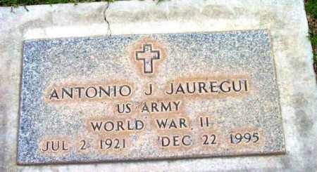 JAUREGUI, ANTONIO J. - Yavapai County, Arizona | ANTONIO J. JAUREGUI - Arizona Gravestone Photos