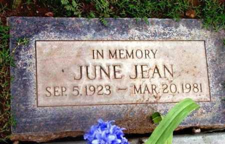 JEAN, LAVERNA JUNE - Yavapai County, Arizona | LAVERNA JUNE JEAN - Arizona Gravestone Photos