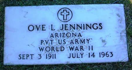 JENNINGS, OVE L. - Yavapai County, Arizona   OVE L. JENNINGS - Arizona Gravestone Photos