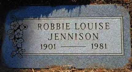JENNISON, ROBBIE LOUISE - Yavapai County, Arizona | ROBBIE LOUISE JENNISON - Arizona Gravestone Photos