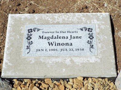 JERGINS, MAGDALENA JANE - Yavapai County, Arizona | MAGDALENA JANE JERGINS - Arizona Gravestone Photos